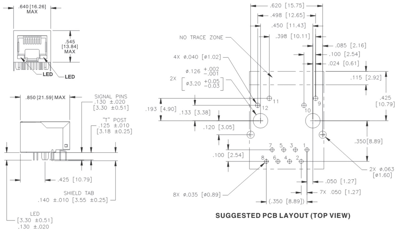 POWER OVER ETHERNET (PoE& PoE+) 10/100BASE-TX RJ45 Jack With ... on telephone schematic, microprocessor schematic, rs485 schematic, laptop schematic, camera schematic, integrated circuit schematic, headphone schematic, hard drive schematic, remote control schematic,